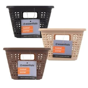 3 Earth tone Baskets with Lids